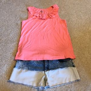 Girls plus size outfit